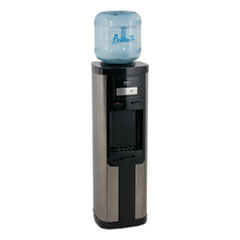 Hot and Cold Water Dispenser, 3-5 gal, 13 x 38.75, Stainless Steel