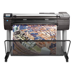 "1Designjet T830 36"" Wireless Multifunction Wide Format Inkjet Printer, TAA Compliant"