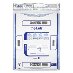 Deposit Bag, 15 x 20, 2.5 mil Thick, Plastic, Clear, 250/Carton
