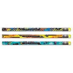 Decorated Pencil, Race to Success!, HB, 2.1 mm, Assorted, Black, Dozen