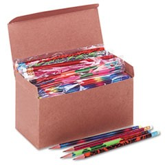 Woodcase Pencil, Treasure Assortment, HB #2, 144/Box