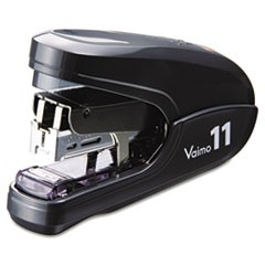 Flat Clinch Light Effort Stapler, 35-Sheet Capacity, Black