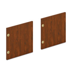 "Mod Laminate Doors for 60""W Mod Desk Hutch, 14.87 x 14.83, Russet Cherry, 2/Carton"