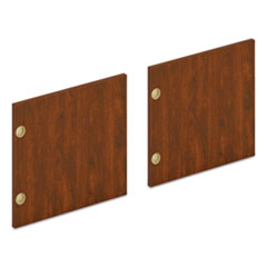 "Mod Laminate Doors for 66""W Mod Desk Hutch, 16.37 x 14.83, Russet Cherry, 2/Carton"