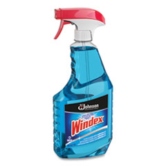 Glass Cleaner with Ammonia-D, 32oz Capped Bottle with Trigger, 12/Carton