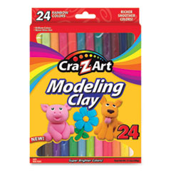 Modeling Clay, 0.73 oz Each Color, 24 Assorted Colors, 24/Box