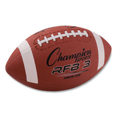 Rubber Sports Ball, For Football, Junior Size, Brown