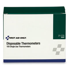 Disposable Forehead Thermometer, 100/Box
