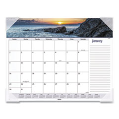 Seascape Panoramic Desk Pad, 22 x 17, 2021