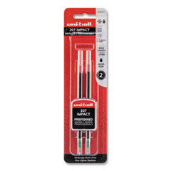 Refill for Gel IMPACT Gel Pens, Bold Point, Black Ink, 2/Pack