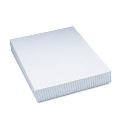 "Pacon Graphing Paper, White, 8-1/2"" x 11"", 500 Sheets"