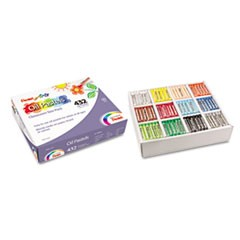 Oil Pastel Set With Carrying Case,12-Color Set, Assorted, 432/Pack