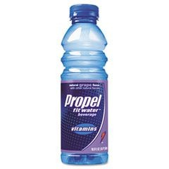 Flavored Water, Grape, Bottle, 500mL, 24/Carton