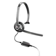 M214C Over-the-Head Mobile/Cordless Phone Headset w/Noise Canceling Mic