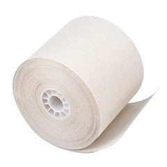 "One Ply Receipt Roll, 2 1/4"" x 150 ft, White, 100/Carton"