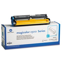 1710517008 High-Yield Toner, 4500 Page-Yield, Cyan