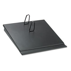 Desk Calendar Base, Black, 3 1/2