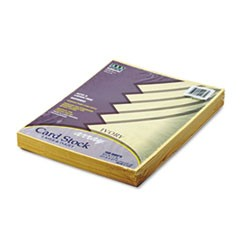 Array Card Stock, 65lb, 8 1/2 x 11, Ivory, 100/Pack