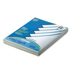 Array Card Stock, 65lb, 8 1/2 x 11, White, 100/Pack