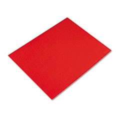 4-Ply Railroad Board, 25C, Red