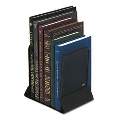 Mesh Bookends, Steel, 4 3/4 x 5 1/4 x 6 1/2, Steel, Black
