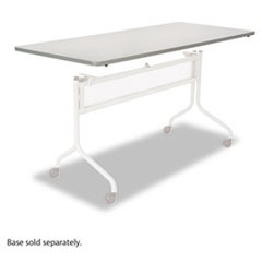 Impromptu Series Mobile Training Table Top, Rectangular, 72w x 24d, Gray