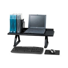 Value Mate Desk Riser, 100-Pound Capacity, 30 x 12 x 8, Black
