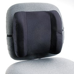Remedease High Profile Backrest,12.75w x 4d x 13h, Black