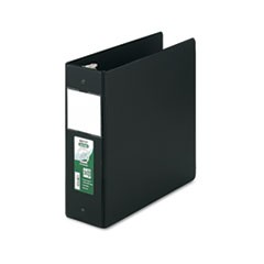 Clean Touch Antimicrobial Locking Round Ring Binder, 11 x 8-1/2, 4