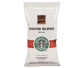 Coffee, Regular House Blend, 2.5oz Packet, 18/Box