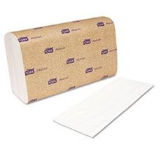 Interfold Towels, White, 9 x 10, 2-Ply, 144/Pack, 21 Packs/Carton