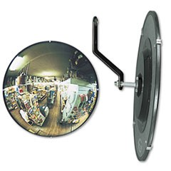 "160 degree Convex Security Mirror, 18"" Diameter"