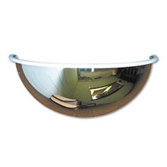"Half-Dome Convex Security Mirror, 26"" dia."