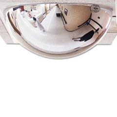 "T-Bar Dome Security Mirror, 24"" dia."
