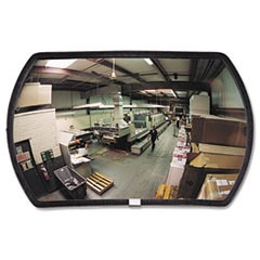 "160 degree Convex Security Mirror, 24w x 15"" h"
