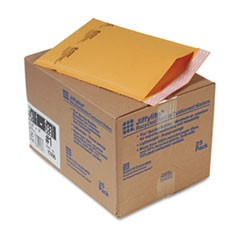 Jiffylite Self-Seal Mailer, Side Seam, #1, 7 1/4 x 12, Golden Brown, 25/Carton