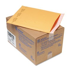 Jiffylite Self-Seal Mailer, Side Seam, #4, 9 1/2x14 1/2, Gold Brown, 25/Carton