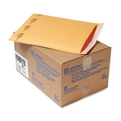 Jiffylite Self-Seal Mailer, Side Seam, #5, 10 1/2 x 16, Golden Brown, 25/Carton