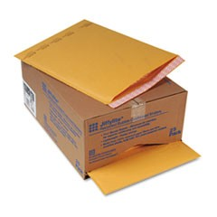 Jiffylite Self-Seal Mailer, Side Seam, #7, 14 1/4 x 20, Golden Brown, 25/Carton