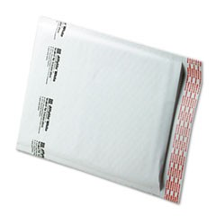 Jiffylite Self-Seal Bubble Mailer, #2, Barrier Bubble Lining, Self-Adhesive Closure, 8.5 x 12, White, 100/Carton