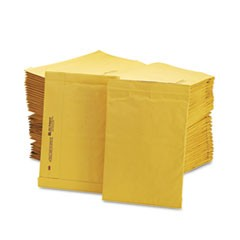 Jiffy Padded Mailer, Side Seam, #4, 9 1/2 x 14 1/2, Natural Kraft, 100/Carton