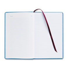 Record Ledger Book, Blue Cloth Cover, 150 7 1/2 x 12 Pages