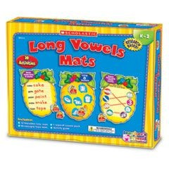 Vowels Mats Kit, Long Vowels, Bees, Grades K-2