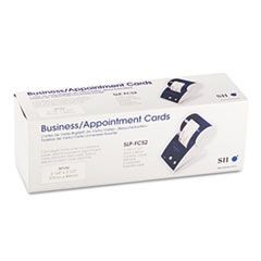 Business/Appointment Cards, 2-1/4 x 3-1/2, White, 600/Box