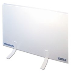 Energy-Saving 150 Watt Heating Panel Heater, Metal Case, 23w x 1d x 16h, White