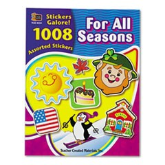 Sticker Book, For All Seasons, 1,008/Pack