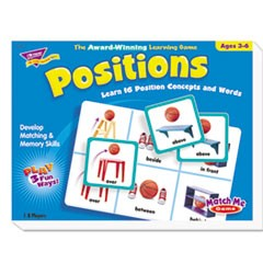 Positions Match Me Puzzle Game, Ages 5-8