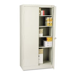 "72"" High Standard Cabinet, 36w x 18d x 72h, Light Gray"