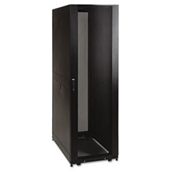 SR42UBKD 42U Rack Enclosure Knock-Down with Doors & Sides 3000lb Capacity