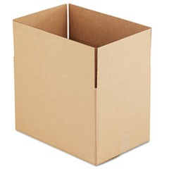 Brown Corrugated - Fixed-Depth Shipping Boxes, 18l x 12w x 12h, 25/Bundle